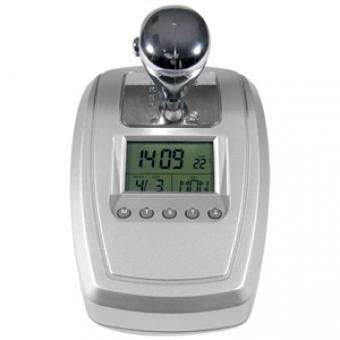 """FM-радио """"АКПП""""; серебристый; 10,2х14,5х10,6 см; пластик; тампопечать"""