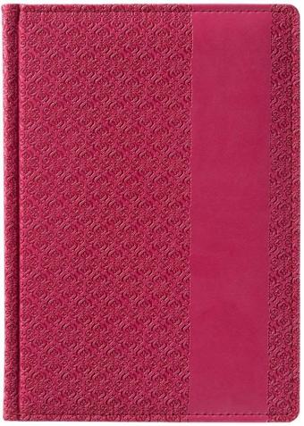 Ежедневник «Византия», недатированный, малиновый