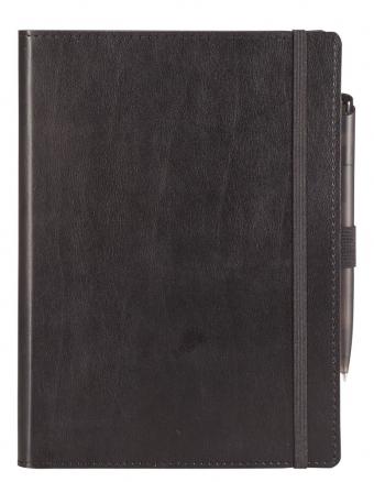 Ежедневник Soft Book, мягкая обложка, недатированный, черный