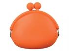 Силиконовый кошелек оранжевый