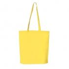 """Сумка для покупок """"PROMO"""";  желтый; 38 x 45 x 8,5 см;  нетканый 80г/м2"""