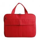 """Конференц-сумка """"Тодес"""" с отделением для ноутбука, красный, ; 35х26x2,5 см; полиэстер 600D; шелкогр"""