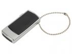 Флеш-карта USB 2.0 на 4 Gb с цепочкой, черный