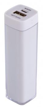 Универсальный аккумулятор Bar, 2200 mAh, белый