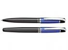 Набор Celebrity «Кюри»: ручка шариковая, ручка роллер в футляре