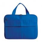 """Конференц-сумка """"Тодес"""" с отделением для ноутбука, синий, ; 35х26x2,5 см; полиэстер 600D; шелкогр"""
