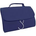 """Несессер дорожный """"Comfort""""; синий; 21,5х17,5х2 см; полиэстер; шелкография"""
