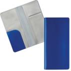 """Бумажник путешественника """"HAPPY TRAVEL"""", синий, ПВХ, 10*22 см, тампопечать, шелкография"""
