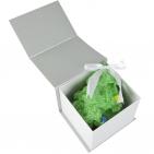 Подарочная коробка «Блеск», малая, серебристая