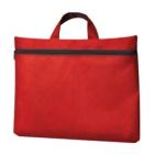 """Сумка для документов """"Paper""""; красный; 40х30 см;полиэстер; шелкография"""