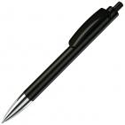 TRIS CHROME, ручка шариковая, черный/хром, пластик