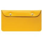 """Бумажник дорожный """"HAPPY TRAVEL"""", желтый, 23.5*12.5 см, ПВХ, тампопечать, шелкография"""