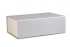 Подарочная коробка «Блеск», большая, серебристая