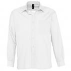 "Рубашка ""Baltimore"", белый_M, 65% полиэстер, 35% хлопок, 105г/м2"