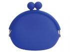 Силиконовый кошелек синий