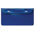"""Бумажник дорожный """"HAPPY TRAVEL"""", синий, 23.5*12.5 см, ПВХ, тампопечать, шелкография"""