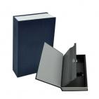 "Сейф ""Книга""; синий; 23,5х15,5х5,5 см; металл; шильд"