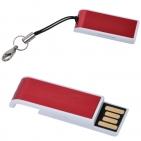 "USB flash-карта ""Slider"" (16Гб),красная,3,4х1,2х0,6см,металл"