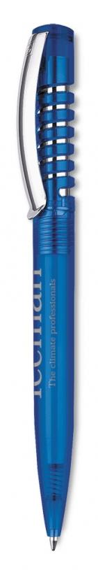 Ручка шариковая New Spring Clear, синяя