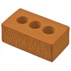 """Антистресс """"Кирпич""""; 9,3х5х3,6 см; вспененный каучук; тампопечать"""