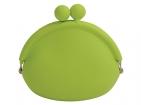 Силиконовый кошелек «зеленое яблоко»