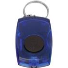 Брелок со светодиодом; синий; 5,5х3,5х1,4 см; пластик; тампопечать