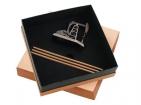Набор «Нефтяная вышка»: точилка для карандашей, 3 карандаша в подарочной упаковке