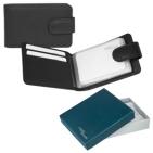 """Футляр для  кредитных карт """"Верона"""",  11*6,5 см,  кожа, подарочная упаковка"""