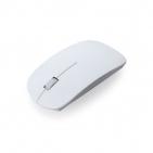 Мышь беспроводная LYSTER, белый, пластик