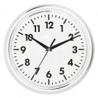 """Часы настенные """"PRINT"""" разборные ;  белый, D24,5 см; пластик/стекло"""