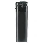 """Зажигалка  пьезо """"Tokai"""" P12LC; черный матовый/черный;8,2х2,3х1 см;пластик"""