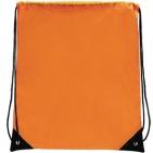 "Рюкзак ""Promo""; оранжевый; 33х38,5х1см; полиэстер; шелкография"