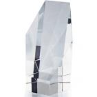"""Кристалл """"Шестиугольник""""; прозрачный; 7,2х6,6х12,5 см; стекло; лазерная гравировка"""