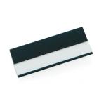 Бейдж; черный; 7х2,5х0,4 см; алюминий; тампопечать, лазерная гравировка