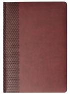 Ежедневник BRAND, датированный, бордовый