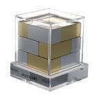 Головоломка-антистресс Cube, золото
