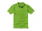 """Рубашка-поло """"Calgary"""" мужская, зеленое яблоко"""