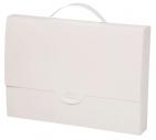 Портфель пластиковый, белый