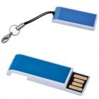 "USB flash-карта ""Slider"" (16Гб),синяя,3,4х1,2х0,6см,металл"