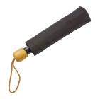 Зонт складной Wood, черный