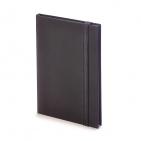 Еженедельник недатированный Tango, B6, черный, бежевый блок, черный обрез, ляссе