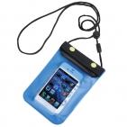 Футляр водонепроницаемый для мобильного телефона; 11,5х20 см; пластик; тампопечать