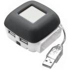 USB-разветвитель с дополнительным портом для подзарядки мобильного телефона (Samsung, Siemens, Motor