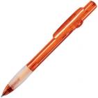 ALLEGRA LX, ручка шариковая, прозрачный оранжевый, пластик