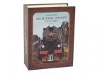 Часы в виде книги «Железные дороги России»