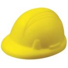 """Антистресс """"Каска""""; желтый; 8,3х7,1х5 см; вспененный каучук"""