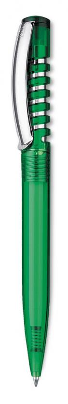 Ручка шариковая New Spring Clear, зеленая