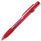 ALLEGRA LX, ручка шариковая, прозрачный красный, пластик