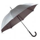 Зонт-трость Unit Wind, серебристый