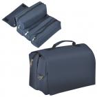 """Несессер для путешествий """"Handy""""; темно-синий; 62х20 см; полиэстер"""